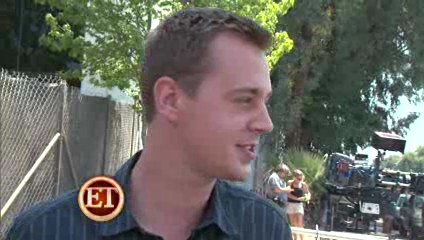 Sean Murray, ET interview on the shooting of season 7, ep 5, August 2009