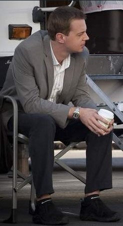 Sean Murray on the set of NCIS, September 16, 2009