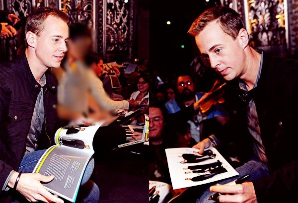 Sean Murray at 27th Annual Paley Fest (Los Angeles, CA), March 1, 2010